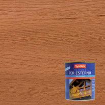 Vernice per esterno ad acqua Syntilor teak satinato 0,25 L