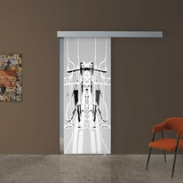 Porta da interno scorrevole Tesla 1 88 x H 215 cm dx