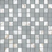 Mosaico Crystal 30 x 30 cm bianco