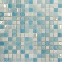 Mosaico Soft sky 32,7 x 32,7 cm blu, bianco, azzurro