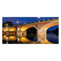 Fotomurale Torino Ponte Isabella 210 x 100 cm