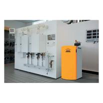 Caldaia a pellet Krone BOILER20KR 17,51 kW arancio e grigio