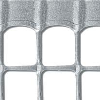 Rete Quadra 20 H 1 x L 5 m argento