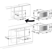 Microonde 2 funzioni HOTPOINT MWHA 122.1 X