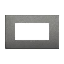 Placca VIMAR Arké 4 moduli titanio matt