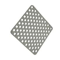 Tappeto antiscivolo in pvc grigio 50 x 50 cm
