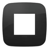 Placca VIMAR Arké 2 moduli nero