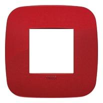 Placca VIMAR Arké 2 moduli rosso