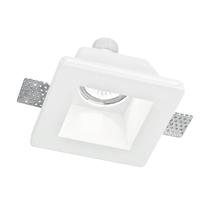 Faretto fisso da incasso quadrato Ghost-q1 in gesso, bianco, 12xGU10 MAX42W IP20 1 pezzi