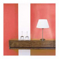 Paralume per lampada da tavolo personalizzabile  Ø 30 cm bianco avorio in tela di juta