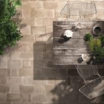 Piastrella Harlem H 20 x L 20 cm PEI 4/5 grigio