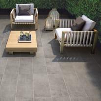 Piastrella Cemento Dark H 30 x L 61.5 cm PEI 4/5 grigio
