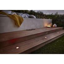 Faretto da incasso da esterno tondo Thaisa LED integrato in plastica, alluminio,  diam. 5 cm 5x5cm 1,5W 30LM IP67