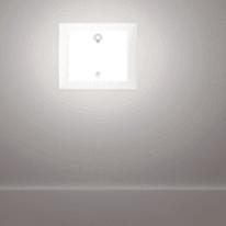 Faretto da incasso da esterno rettangolare 503 LED integrato in alluminio, argento, 10.5x3W 100LM IP66