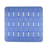 Pedana per doccia Frost in plastica azzurro 55 x 55 cm