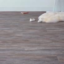 Pavimento pvc flottante clic+ Old stone Sp 4 mm marrone