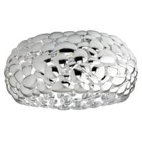 Plafoniera Dioniso bianco, in ferro, diam. 48 cm, E27 3xMAX60W IP20
