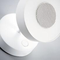 Faretto completo Jino bianco, in alluminio, LED integrato 8W 400LM IP20 INSPIRE
