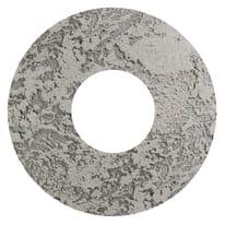 Plafoniera Hole grigio, in cemento, diam. 30, LED integrato 12W IP20 LUMICOM
