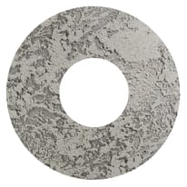 Plafoniera Hole grigio, in cemento, diam. 50, LED integrato 30W IP20 LUMICOM