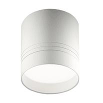 Plafoniera Jupiter bianco, in alluminio, 8.7x8.7 cm, LED integrato 10W 800LM IP20