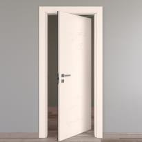 Porta rototraslante Catbird crema L 80 x H 210 cm destra