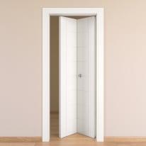 Porta pieghevole Chamberì bianco L 70 x H 210 cm destra