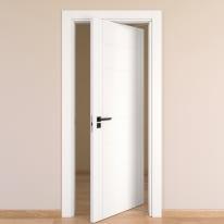 Porta rototraslante Chamberì bianco L 80 x H 210 cm destra