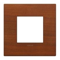 Placca VIMAR Arké 2 moduli ciliegio