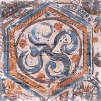 Piastrella Provence H 20 x L 20 cm PEI 3/5 multicolore