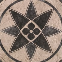 Piastrella Costa H 20 x L 20 cm PEI 3/5 grigio e antracite