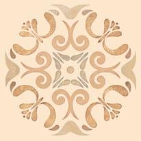 Piastrella Patine L 15 x H 15 cm arancione, beige