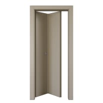 Porta pieghevole Cinder grigio L 80 x H 210 cm sinistra