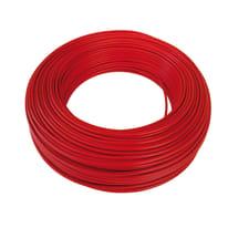 Cavo elettrico BALDASSARI CAVI 1 filo Matassa 100 m rosso