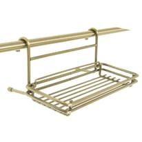 Barra sottopensile in metallo 26 x 10 cm