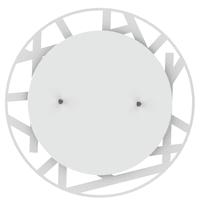 Plafoniera Shadow t bianco, in vetro, diam. 50, LED integrato 30W IP20 LUMICOM