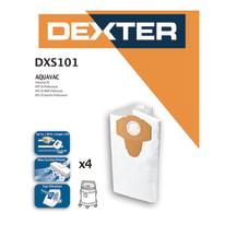 Sacchetto di aspirazione DEXTER DXS 101 sintetico 30 L 4 pezzi
