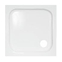 Piatto doccia acrilico Mixer 75 x 75 cm bianco