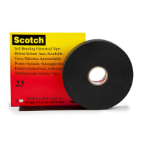 Banda d'isolamento autosaldante 3M Scotch 23 23 x 7000 x sp 0.76 mm nero