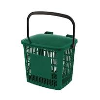 Pattumiera manuale verde 7.5 L