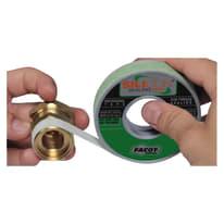 Nastro teflon Silicon Sealing tape per raccordi idraulici 0.014 x 15 x Sp 0.6 mm