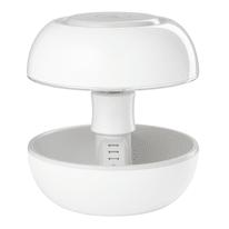 Lampada da tavolo Joyo classico bianco trasparente, in plastica, G5.3 MAX3,5W IP20