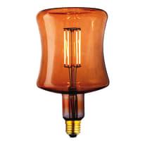 Lampadina decorativa LED Anfora bianco E27 4W = 400LM (equiv 40W) 360°