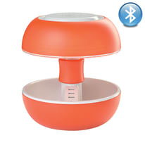 Lampada da tavolo Joyo bluetooth lightcolor arancio trasparente, in plastica, G5.3 MAX3,5W IP20