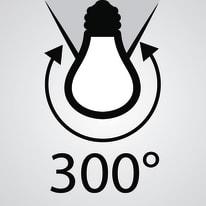 Lampadina LED R7S, 118 mm specifico bianco caldo 9.5W = 1055LM (equiv 75W) 300° LEXMAN