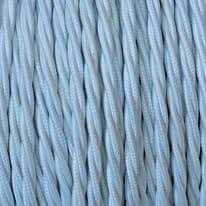 Cavo tessile MERLOTTI 3 fili x 1,5 mm² bianco 25 metri