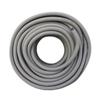 Cavo elettrico LEXMAN 3 fili x 1,5 mm² Matassa 5 m grigio