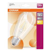 Lampadina Filamento LED E27 edison bianco caldo 7W = 806LM (equiv 60W) 320° OSRAM