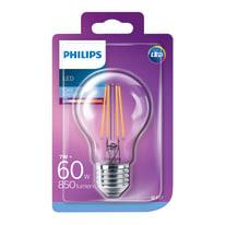 Lampadina LED E27 goccia bianco freddo 7W = 850LM (equiv 60W) 360°