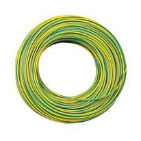 Cavo elettrico LEXMAN 1 filo x 1,5 mm² Matassa 25 m giallo/verde